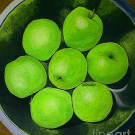 Olga Zavgorodnya - Green Sour-Sweet Apples
