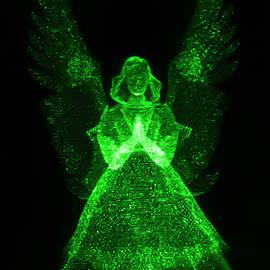 Green Angel by Shane Bechler