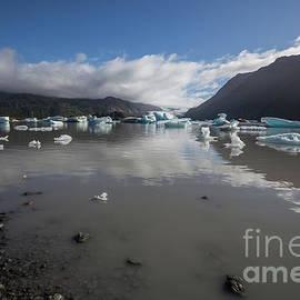 Grewingk Glacier Lake by Eva Lechner