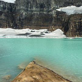 Grinnell And Salamander Glaciers by Jemmy Archer