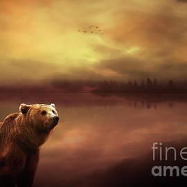 KaFra Art - Grizzly Sunset