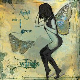 Grow Wings by Cactus Sun Studio