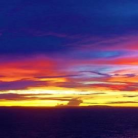 Guam Sunrise II 10 2015 by Phyllis Spoor