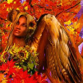 Guardian Angel/Autumn by Suzanne Silvir