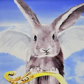 Guardian Rabbit Sandbrown by Eckhard Besuden