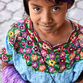 Guatemalan girl by Tatiana Travelways