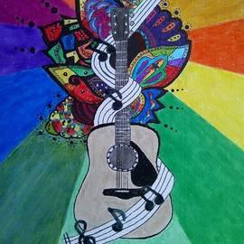 Guitar by John Cunnane