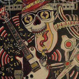 Charles Fuller - Guitar playing skeleton 3