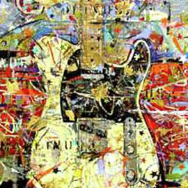Guitarpainting by Kasey Jones