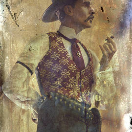 Gunslinger III Doc Holliday in fine attire by Toni Hopper