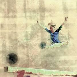 Gymnast,gymnastics, athlete, by Jean Francois Gil