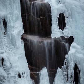 Edward Muennich - Hadlock Falls in Winter