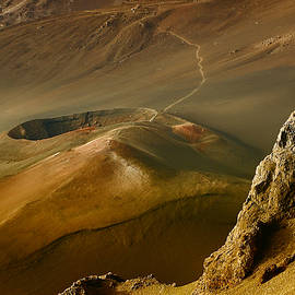 Haleakala Caldera by Teresa Zieba