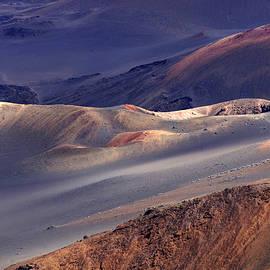 Haleakala Volcano Hawaii by Bob Christopher