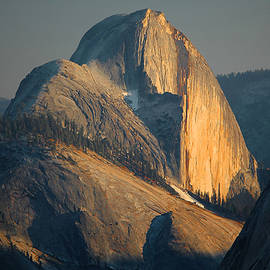 Stephen  Vecchiotti - Half Dome At Sunset - Yosemite