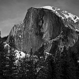 Mike McGinnis - Half Dome in Snow