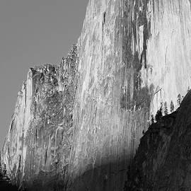 Sierra Vance - Half Dome Sunset Black and White