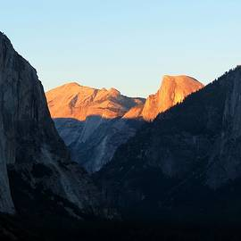Half Dome Sunset by Connor Beekman