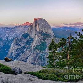 Rincon Road Photography By Ben Petersen - Half Dome Valley at Dusk in Yosemite National Park