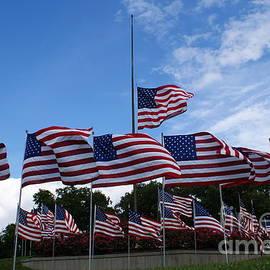 MountainSky S - Half Mast Flag Cape Girardeau Missouri 911 Memorial