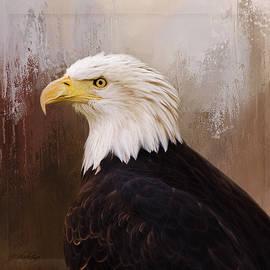 Hallmark of Courage - Eagle Art by Jordan Blackstone