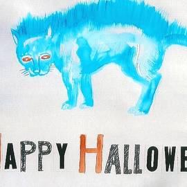 Halloween Cat by Martha Harrell
