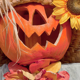 Art Block Collections - Halloween Pumpkin Head