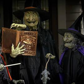 LeeAnn McLaneGoetz McLaneGoetzStudioLLCcom - Halloween Witches on Tillson Street