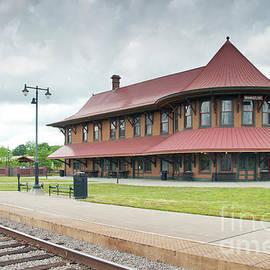 Hamlet North Carolina Depot by John Black