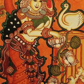 Hamsa-Damayanti by Aswathy Vijayam