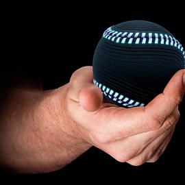 Hand Holding Baseball - Allan Swart