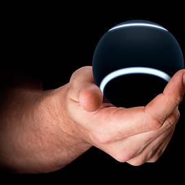 Hand Holding Tennis Ball - Allan Swart