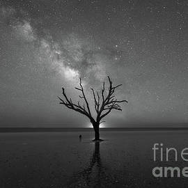Michael Ver Sprill - Hand Of God Milky Way BW