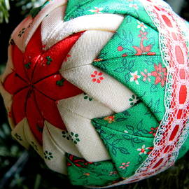 Handmade Christmas Ornament by Arlane Crump