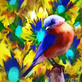 Tina LeCour - Handsome Bluebird