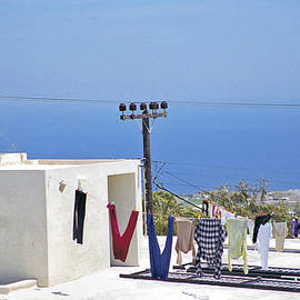 Hanging Out In Mykonos  by Madeline Ellis