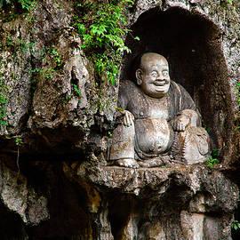 Happy Buddha by Harry Spitz