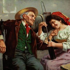 Happy couple - Jules Zermati