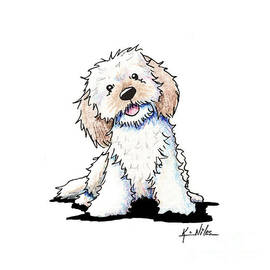 Kim Niles - Happy Doodle Puppy