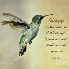 Happy in the Moment by Debby Pueschel