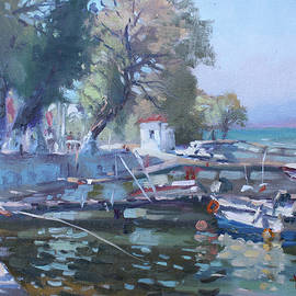 Harbor at Dilesi Greece - Ylli Haruni
