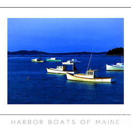 Mike Nellums - Harbor Boats of Maine poster