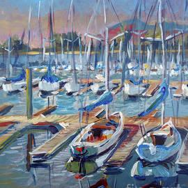 Vanessa Hadady BFA MA - Harbor Morning Sketch