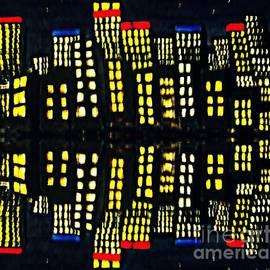 Leanne Seymour - Harbour Lights Reflected 1