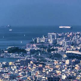 Harbour Of Athens by S Paul Sahm