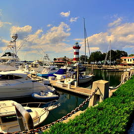 Harbour Town Marina Sea Pines Resort Hilton Head Sc by Lisa Wooten