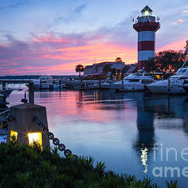 Dawna Moore Photography - Harbour Town Sunset, Hilton Head Island, South Carolina