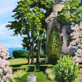 Harkness Memorial Park Tower Waterford CT by Patty Kay Hall