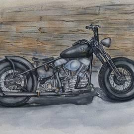 Kelly Mills - Harley-Davidson Panhead 1950