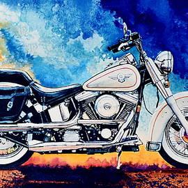 Harley Hog ii by Hanne Lore Koehler